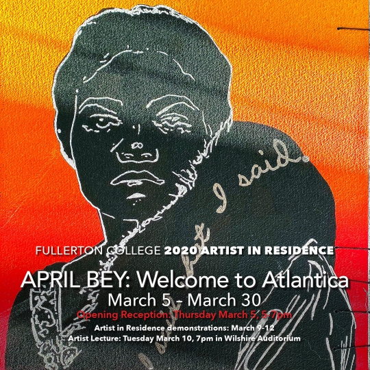 Artist in Residence 2020: April Bey: Welcome to Atlantica